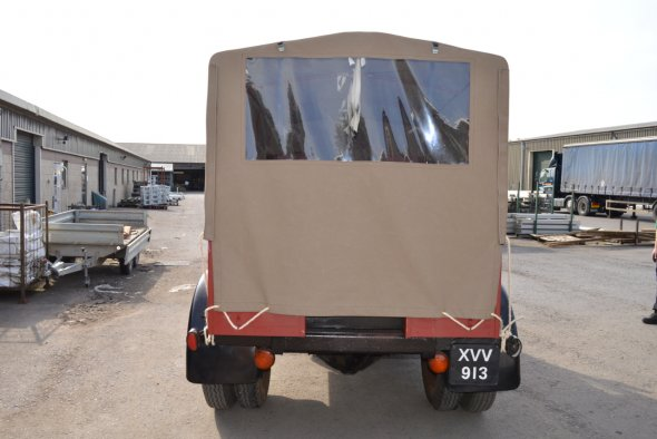 1947 Bedford Truck Cover
