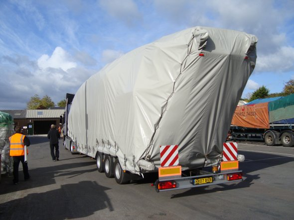 Articulated Trailer Cover