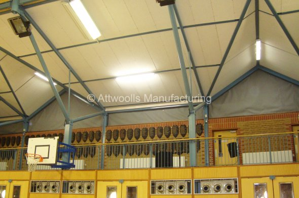 Blackout Blinds For Sports Hall