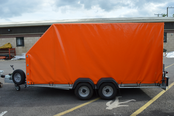Custom Made Trailer Frame Cover