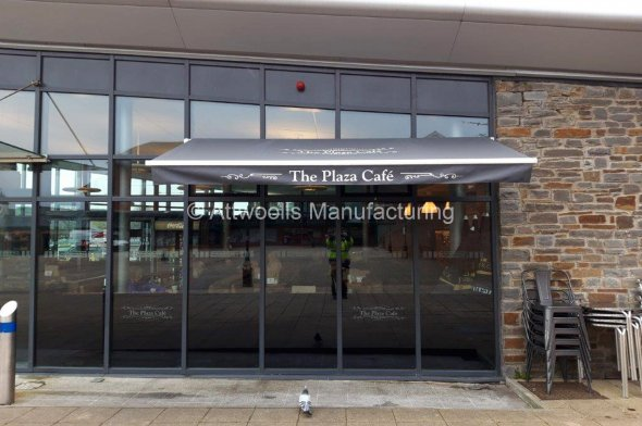 Replacement Shop Awning Fabric