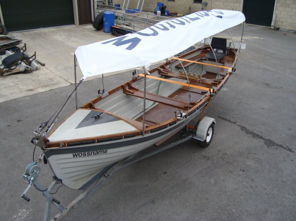 Rowing Boat Cover