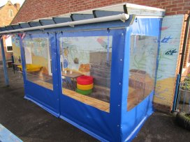 School Outside Structure Side Panels