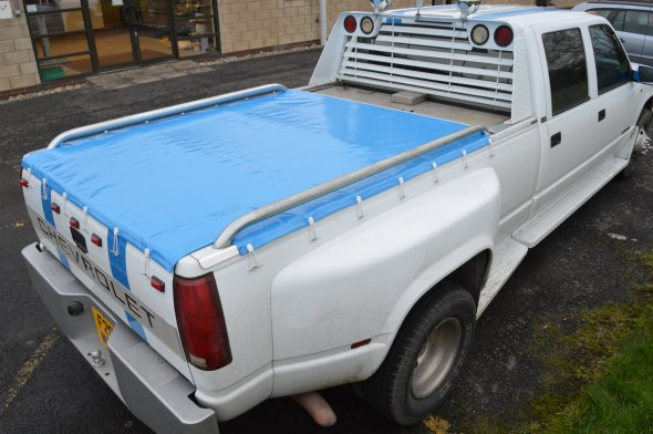 Tonneau Cover Light Blue