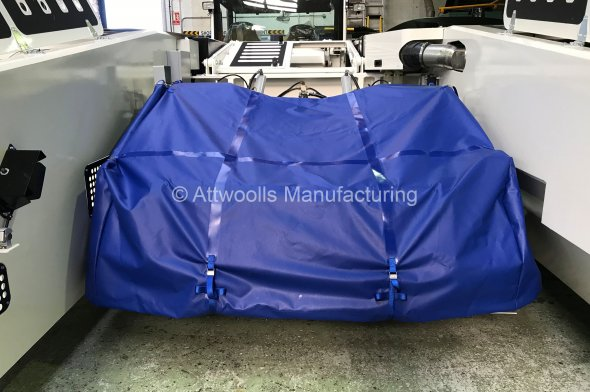 Aircraft Handling Vehicle Cradle Cover