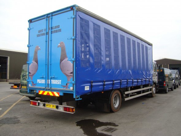 Ventilated Lorry Curtains