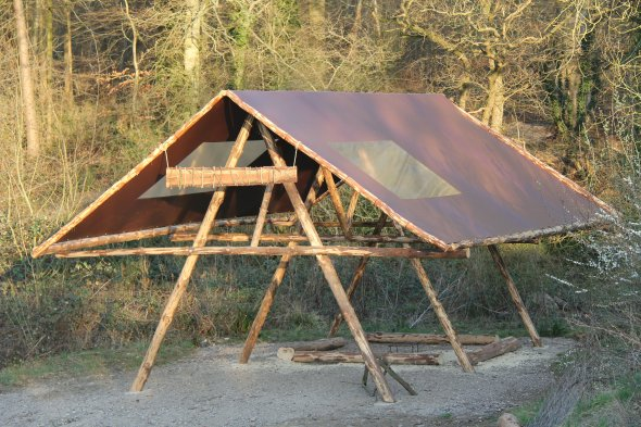 Woodland Shelter Roof Tarpaulin