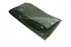 110g/m² Medium Duty Tarpaulin 5m x 4m