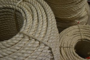 20mm Sisal Rope Per 220m Coil
