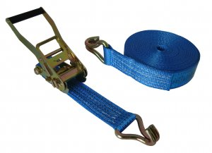 5000kg x 10m Economy Ratchet Strap Claw Hook
