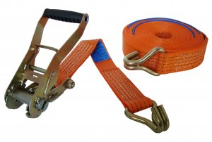 5000kg x 12m Ratchet Strap Claw Hook