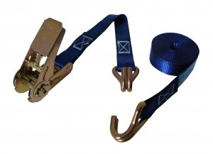 500kg x 4m Ratchet Strap Claw Hook