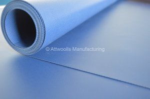 580g/m² PVC Coated Polyester. Width: 300cm