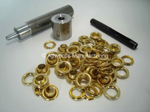 8.38mm ID Brass Eyelet Kit (Industrial Quality)