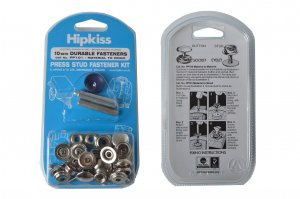 Fabric To Wood Press Stud Kit ('Hipkiss') PP101